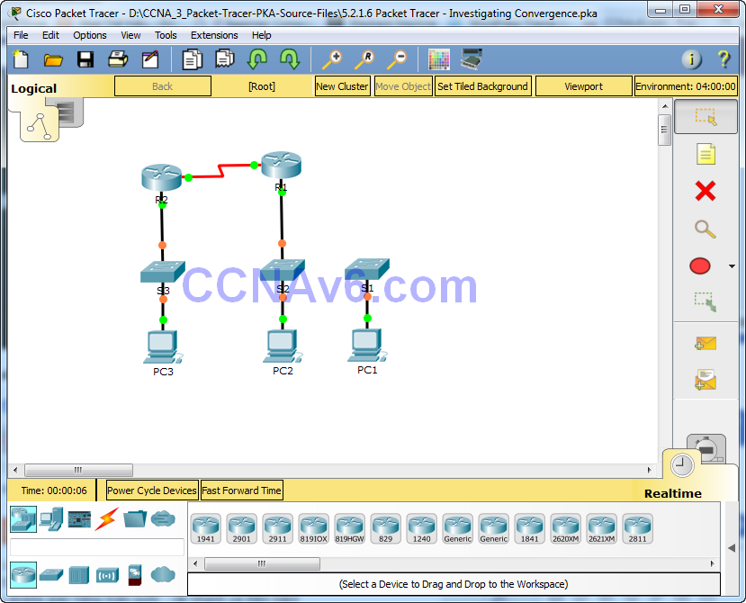 cisco packet tracer labs tutorial step by step pdf