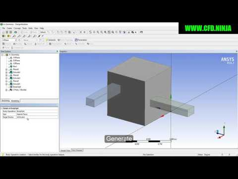 ansys fluent tutorial for beginners