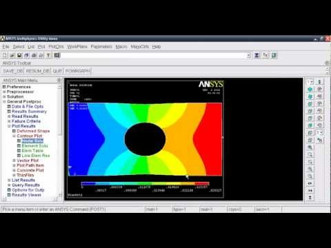 ansys apdl contact tutorial