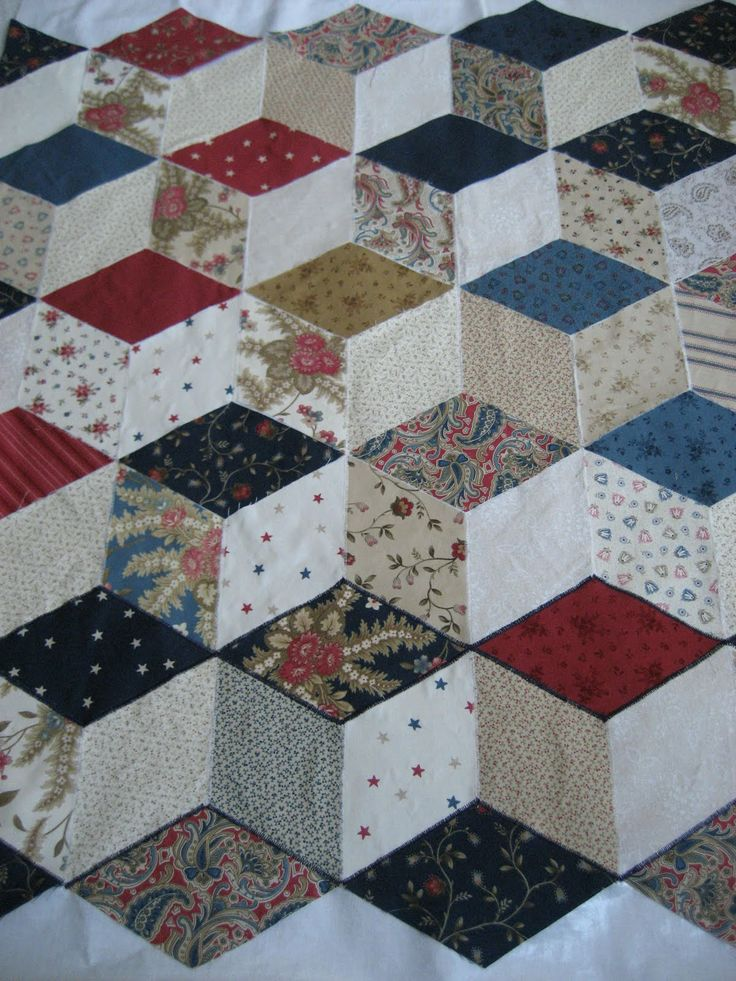 tumbling charms quilt tutorial
