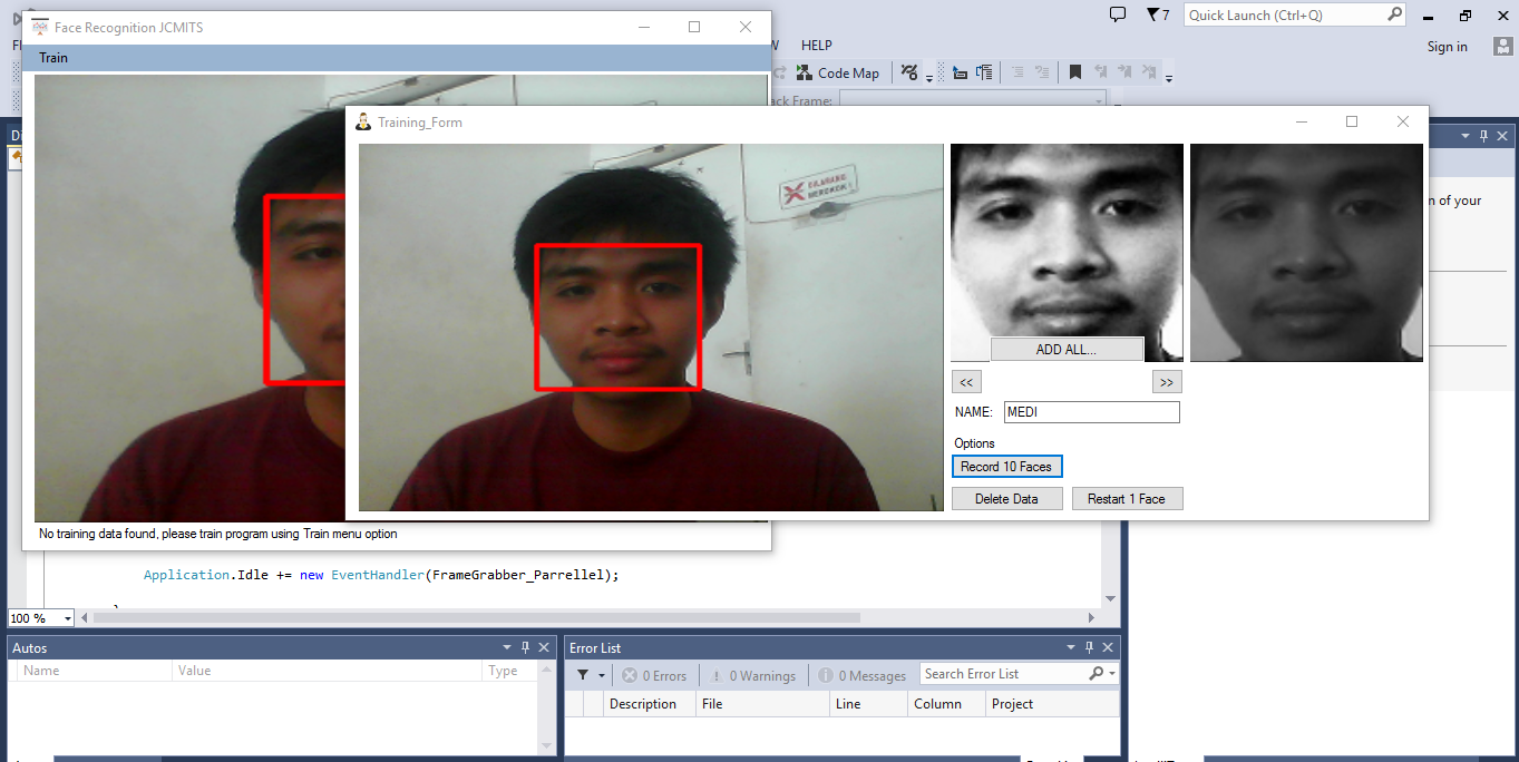 android face recognition tutorial