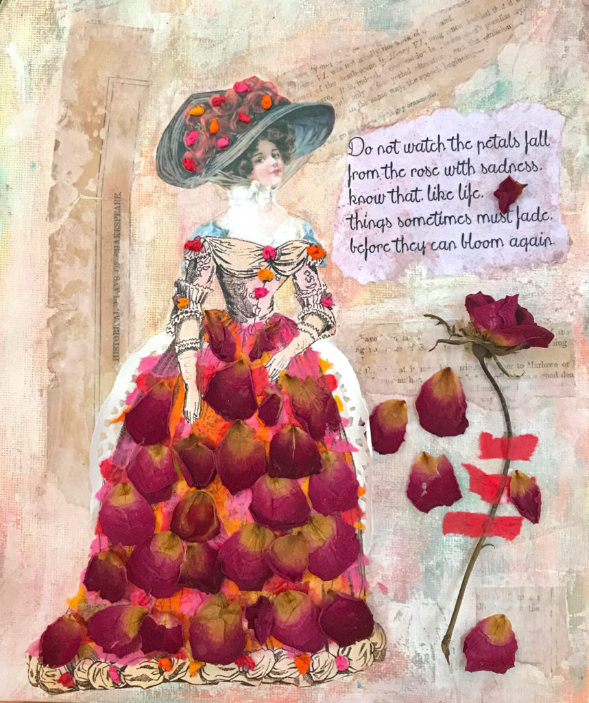 collage and mixed media tutorial
