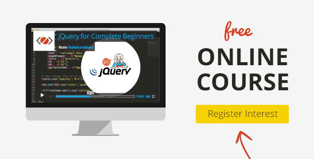 jquery video tutorial for beginners