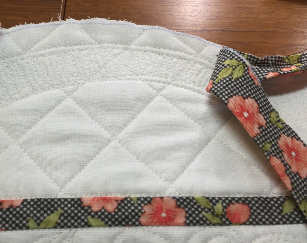 quilt binding tutorial joining ends