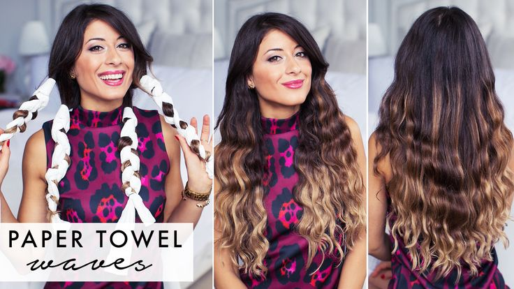 wavy hair tutorial without heat