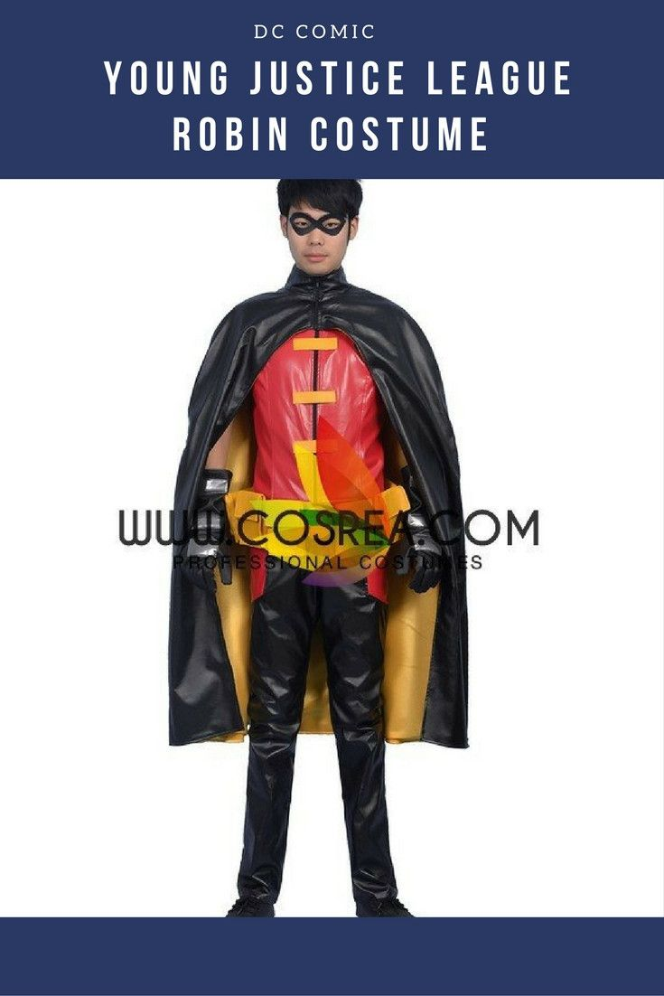 young justice robin cosplay tutorial